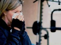 Cлишком болен, чтобы тренироваться?