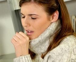 Симптомы: кашель