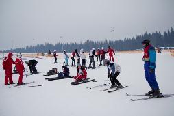 Зимние травмы. Лыжи