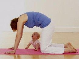 Немного йоги для молодой мамы